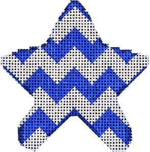Associated Talent Blue Chevron Mini Star CT-2007B