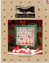 Birds of a Feather Mermaid Sampler with BOAF Limited Edition Linen
