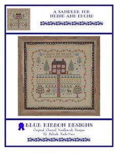 Blue Ribbon Designs A Sampler For Neine and Frump