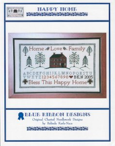 Blue Ribbon Designs Happy Home