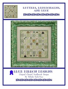 Blue Ribbon Designs Letters, Leprechauns, and Luck