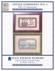 Blue Ribbon Designs Little Reminders Vol 1