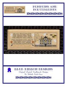 Blue Ribbon Designs Pumpkins and Poltergeists