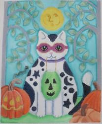 Brenda Stofft Halloween Kitten B316