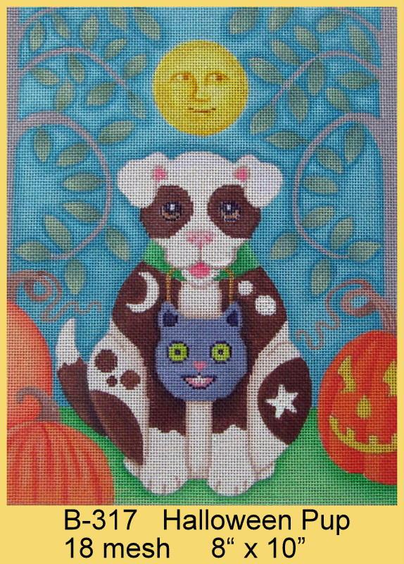 Brenda Stofft Halloween Pup B 317