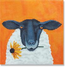 CBK Scott Church Sheep with Daisy with Stitch Guide