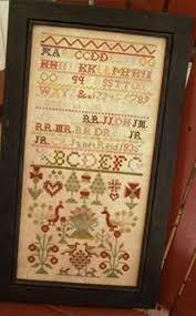 Chessie & Me Janet Reid 1835 Sampler