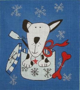 Danji Designs Christmas Dog JW30