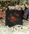 Ewe & Eye & Friends Victorian Rose Scissor Companion
