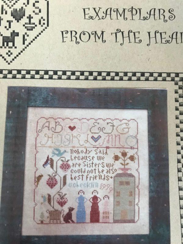 Examplars From the Heart My Sister's Samplar