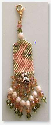 Fern Ridge Bunny Bands Fob Peyote Bead Kit