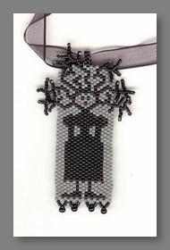 Fern Ridge Frizzled Necklace Peyote Bead Kit