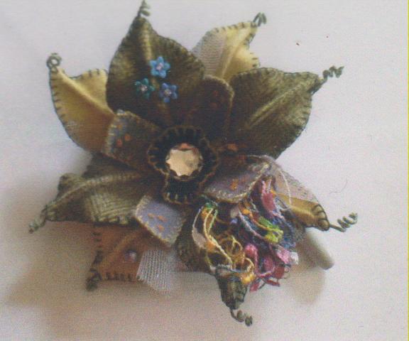 Fern Ridge Funky Flower Pin Kit