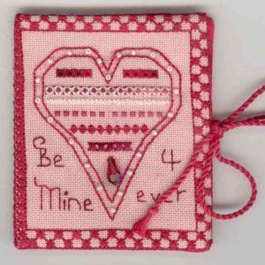 Fern Ridge Heart to Heart Needle Case