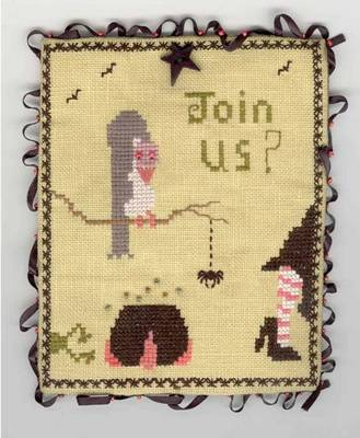 Fern Ridge Join Us Stitchers Pocket
