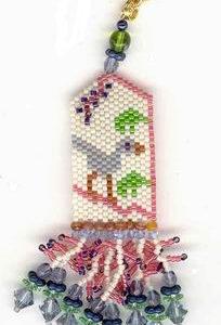 Fern Ridge Pokeberry Fob Peyote Bead Kit