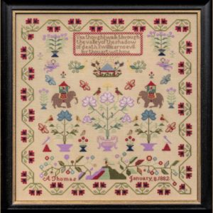 Hands Across the Sea Samplers A Thomas 1882 The Nellies