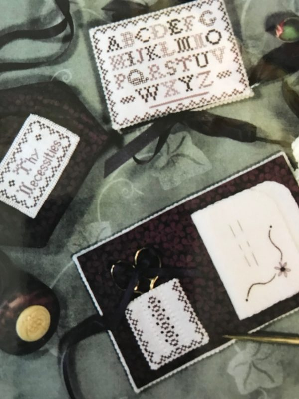 Hillside Samplings Alphabet Needle Book