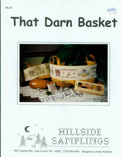 Hillside Samplings That Darn Basket