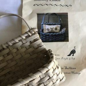 Homespun Elegance Sweet Little Stitching Basket Kit