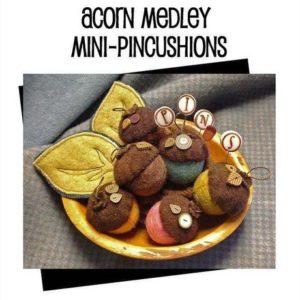 JABC Acorn Medley Mini Pincushions Kit