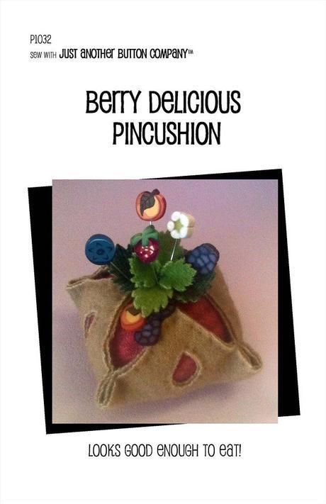 JABC Berry Delicious Pincushion Kit