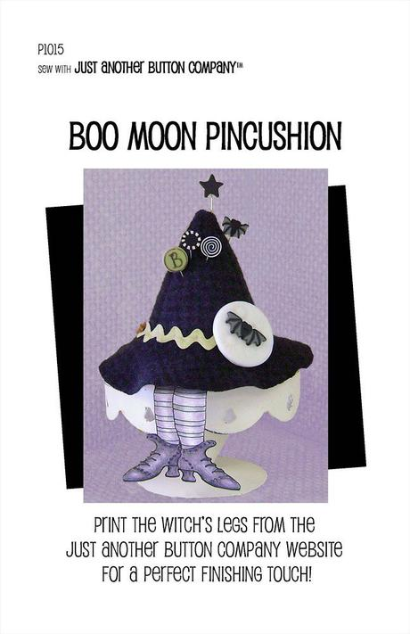 JABC Boo Moon Pincushion Kit