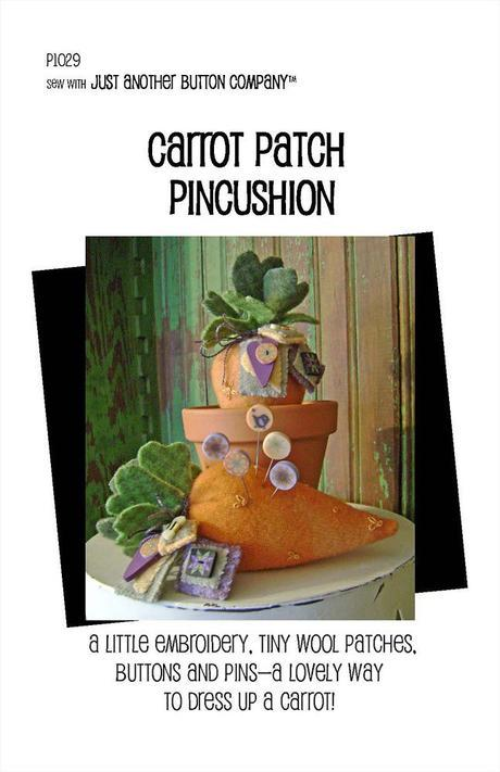 JABC Carrot Patch Pincushion Kit