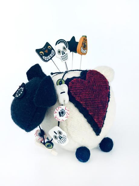 JABC Ewe Look Fabulous for Ghouling Pincushion Kit