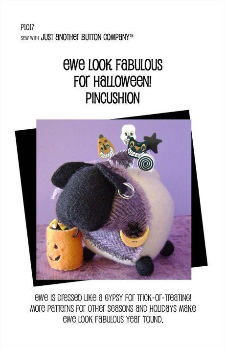 JABC Ewe Look Fabulous for Halloween Pincushion Kit