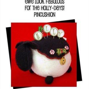 JABC Ewe Look Fabulous for the Holly Days Pincushion Kit