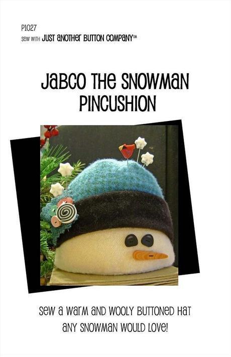JABC Jabco the Snowman Pincushion Kit