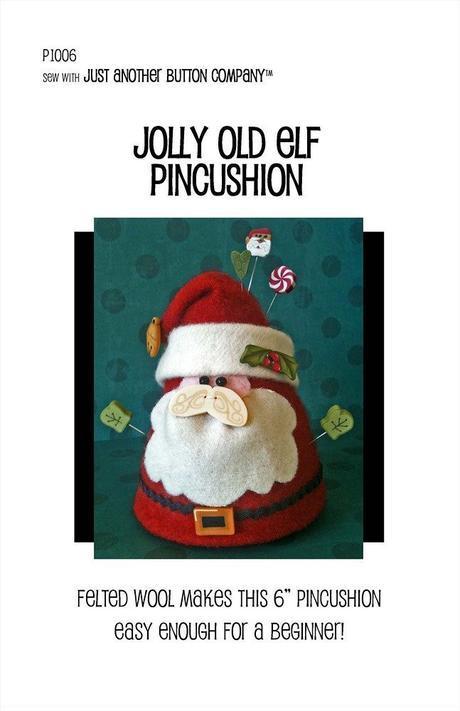 JABC Jolly Old Elf Pincushion Kit