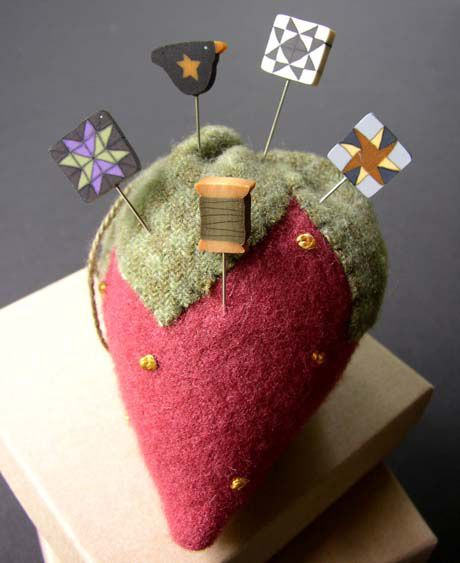 JABC Strawberry Pincushion Kit