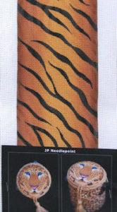 JP Needlepoint Tiger Treasure Boxes TP-004
