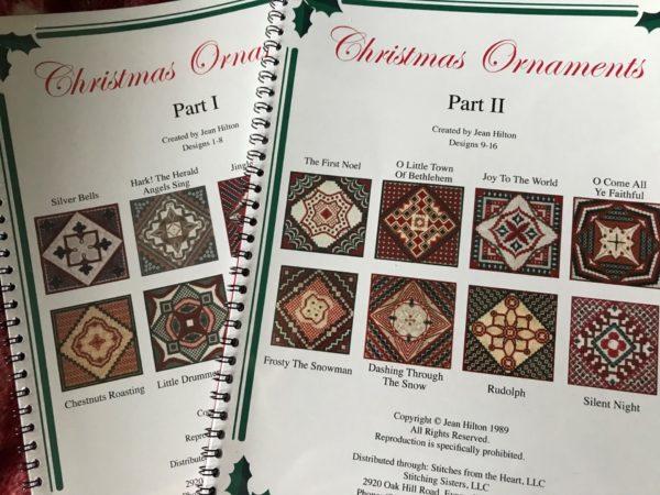 Jean Hilton Christmas Ornaments Part 1 & II Combination