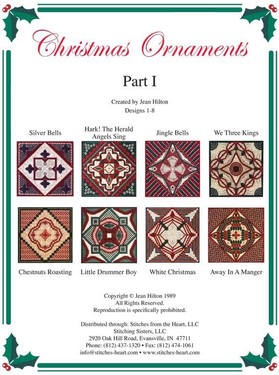 Jean Hilton Christmas Ornaments Part I