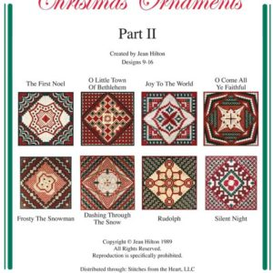 Jean Hilton Christmas Ornaments Part II
