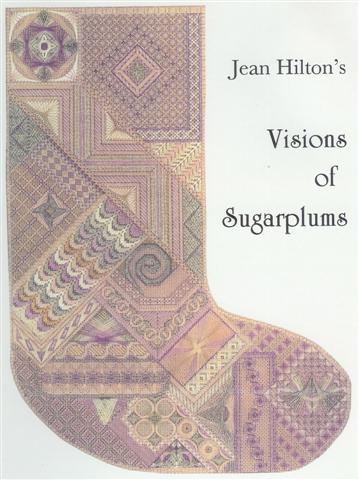 Jean Hilton Visions of Sugarplums Stocking
