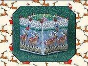 Just Nan 8 Tiny Reindeer Cube