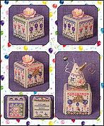 Just Nan Birthday Garden Cube