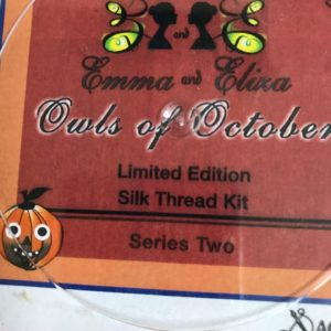 Just Nan Emma and Eliza Owls of October Limited Edition Silk Thread Kit