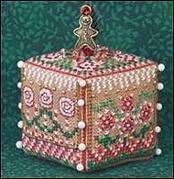 Just Nan Gingerbread Garden Cube