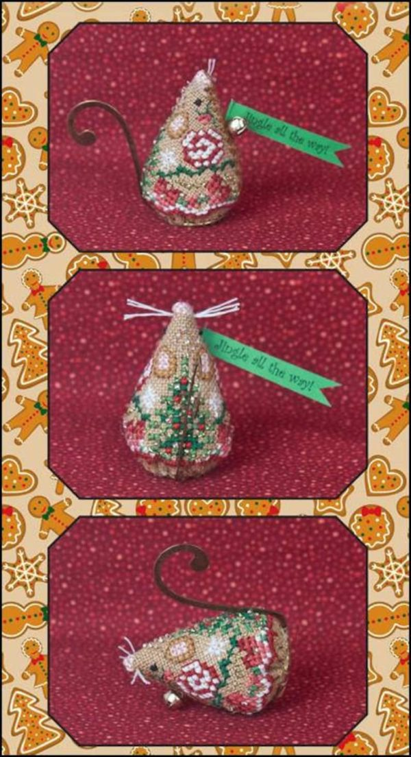 Just Nan Gingerbread Jingle Mouse