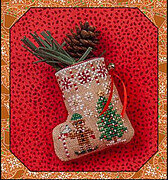 Just Nan Gingerbread Mouse Elf Stocking