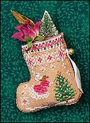 Just Nan Gingerbread Mouse Fairy Stocking