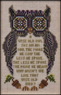 Just Nan Wise Old Owl