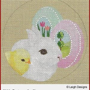 Leigh Designs Easter Round 7802