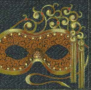 Leigh Designs Iona Carnival Mask 4655