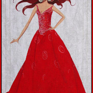Leigh Designs Lady in Red